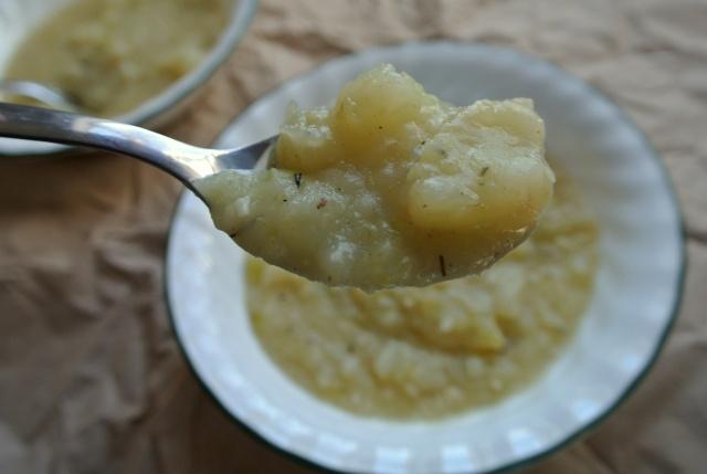 Celery and Potato Soup