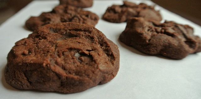 Chocolate Chunk Chocolate Shortbread