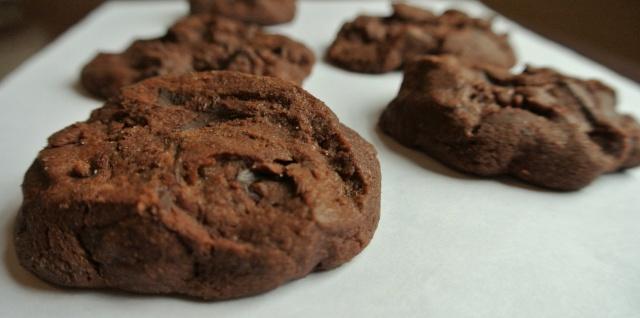 Chocolate Chunk Chocolate Shortbread