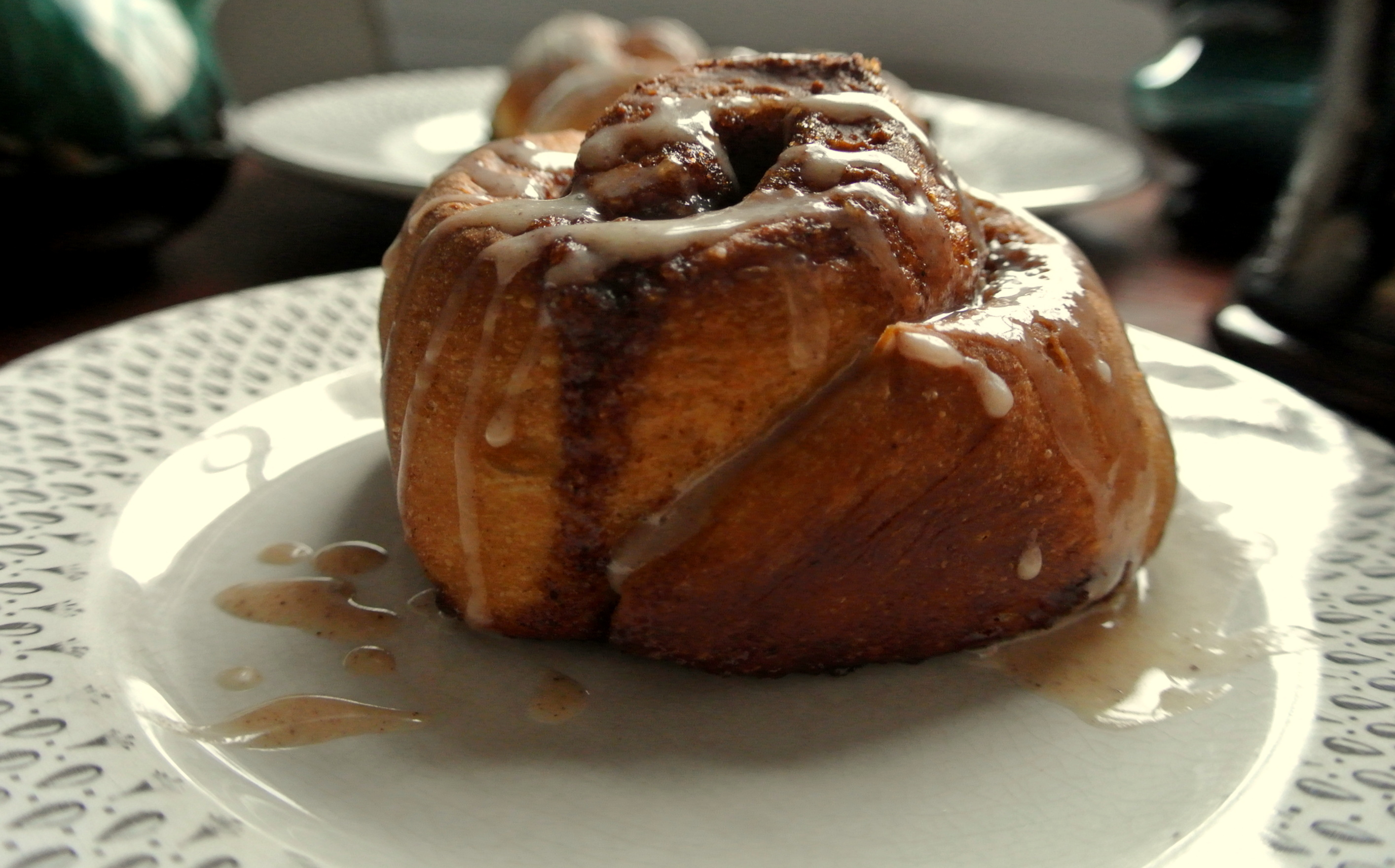 Gingerbread Cinnamon Roll Pancakes Recipes — Dishmaps