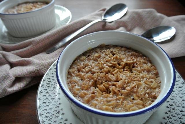 Cinnamon and Vanilla Baked Oatmeal1