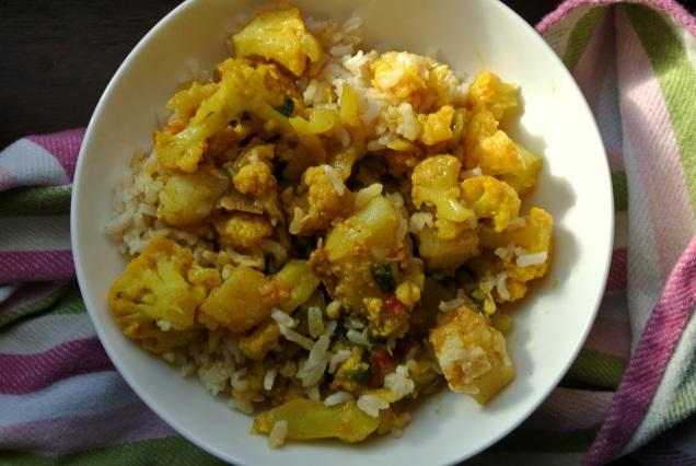 Cauliflower curry3
